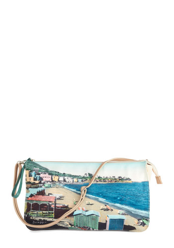 We'll Sea Bag by Nice Things - Blue, International Designer, Multi, Better, Woven, Blue, Novelty Print