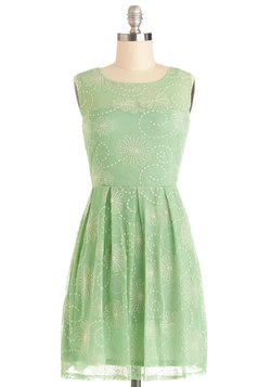 Crisp Morning Air Dress in Mint