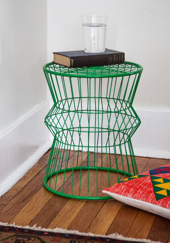Seat for Yourself Stool - Green, Dorm Decor, Mod, Minimal, Best, Solid
