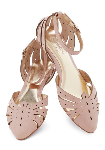 Siren Call Sandal in Pink by Seychelles - Low, Leather, Pink, Solid, Cutout, Daytime Party, Best, Pastel, Variation, Wedge