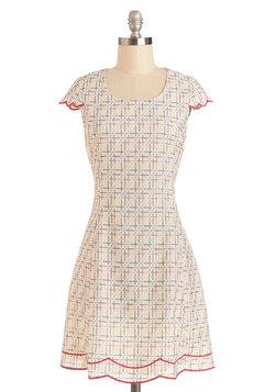 Geometry Guru Dress
