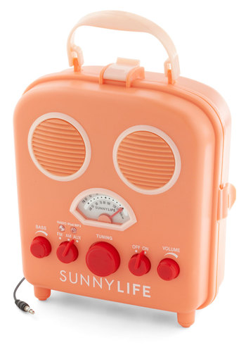 Tunes by the Dunes Radio - Orange, Vintage Inspired, Pastel, Better, Solid, Beach/Resort, Travel, Festival, Summer