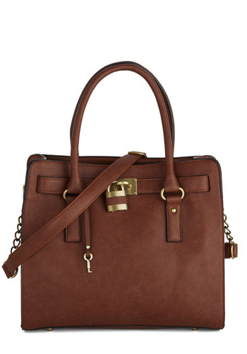 Full Course Load Bag in Chocolate - 14in by Melie Bianco - Brown, Gold, Solid, Work, Better, Variation, Brown, Exclusives, Faux Leather