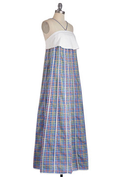 Serene Cityscape Dress