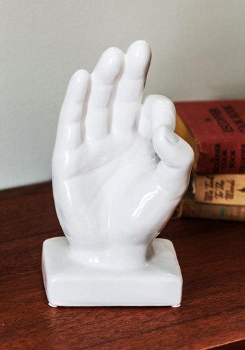 C'est Magnifique Statue - White, Quirky, Good, Solid