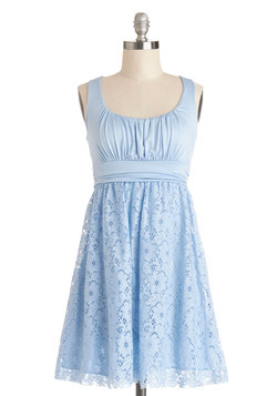 Artisan Iced Tea Dress in Sky