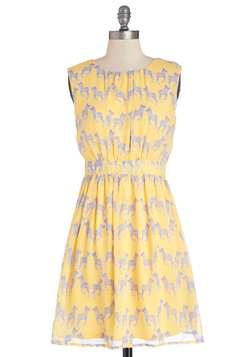Styled and Free Dress in Yellow