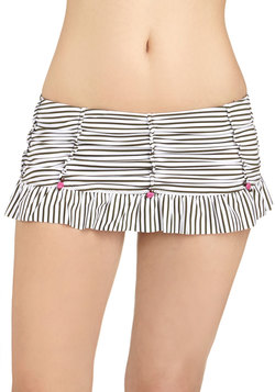 Betsey Johnson All Rosette Up Swimsuit Bottom