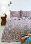 Refreshed and Radiant Quilt Set in Full/Queen - Cotton, Woven, Multi, Paisley, Multi, Boho, Best
