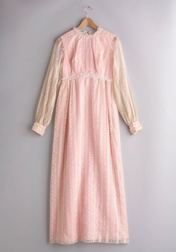 Vintage Love and Carriage Dress