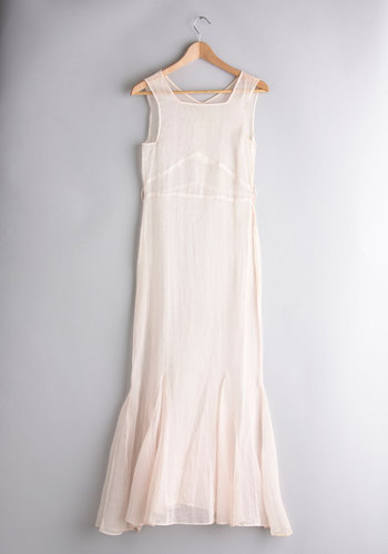 Vintage Dainty Newlywed Slip Dress
