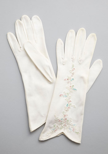 Vintage Bright Up My Life Gloves