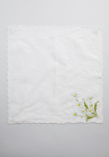 Vintage Together Fleur-Ever Handkerchief