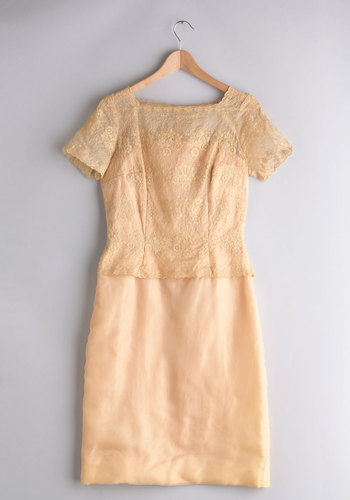 Vintage Wedding Singer-Songwriter Dress