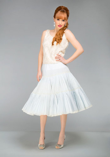 Vintage Unforgettable in Every Sway Petticoat Skirt