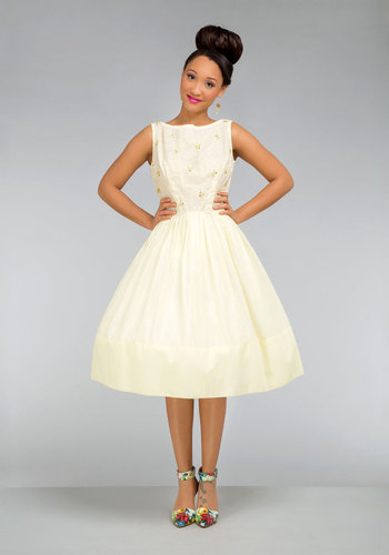Vintage Ooh, Honey Honeymoon Dress