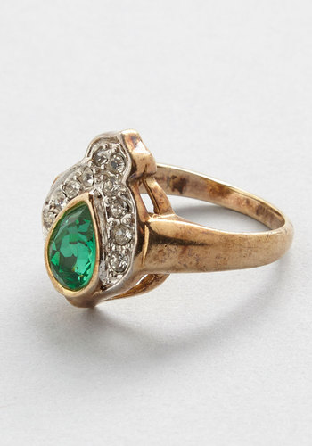 Vintage Brilliant Reception Ring