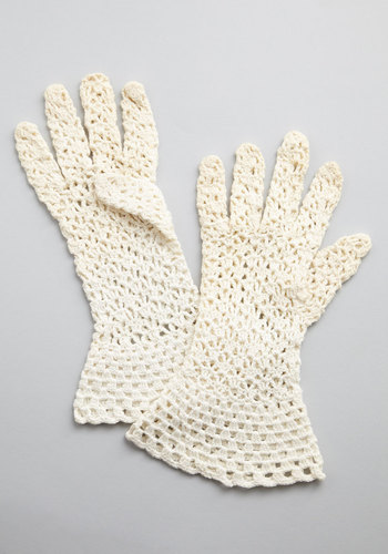 Vintage Cookie Table Gloves