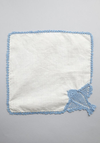 Vintage Endearingly Beloved Handkerchief
