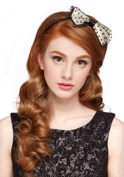 Dotted Adornment Headband