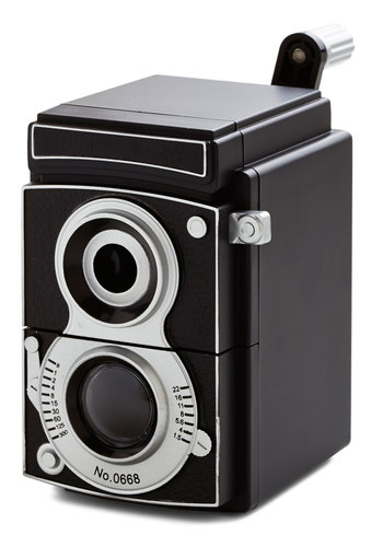 Sharp Image Pencil Sharpener by Kikkerland - Press Placement, Good, Top Rated