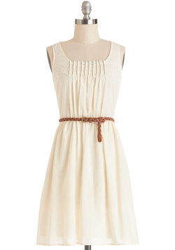 Rules of Strum Dress in Cream