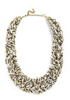 Glitz Mob Necklace in White