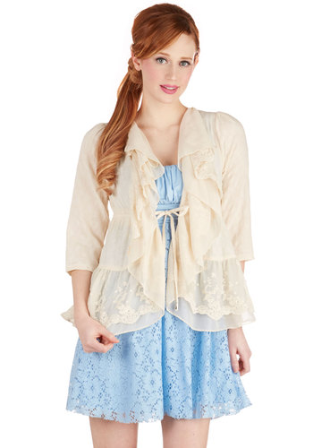 Romantic Heroine Jacket by Ryu - Mid-length, 1, Spring