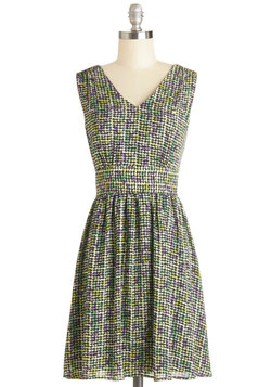 Marvelous Mosaic Dress