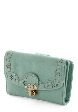 Bags & Accessories - Make Persimmon of Yourself Wallet in Mint