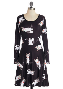 Not Just a Kitty Face Dress