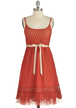 Pretty as Poppies Dress