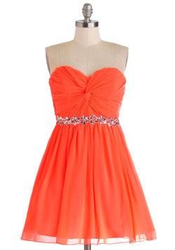 Pretty Punchy Dress