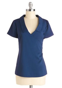 A Certain Degree Top in Navy