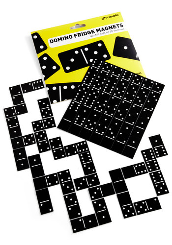 Domino Affection Magnet Set - Multi, Quirky, Good