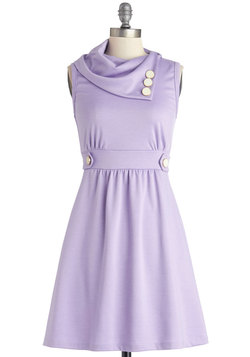 Coach Tour Dress in Lavender