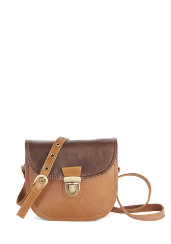 Come One, Caramel Bag by Ollie & Nic - Brown, Solid, Better, International Designer, Basic, Faux Leather, Casual, Boho