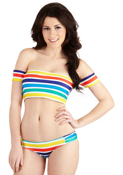 Rainbow Cove Swimsuit Top