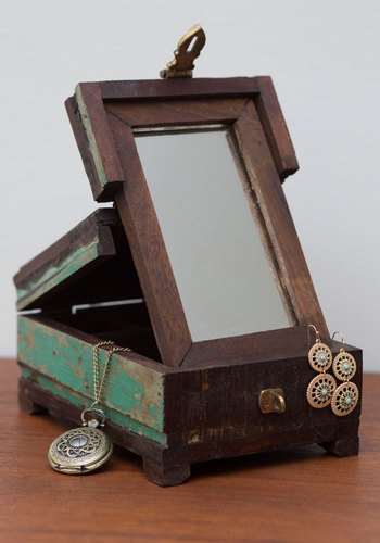 Wonders Unfold Jewelry Box - Multi, Rustic, Better, Graduation, Gals