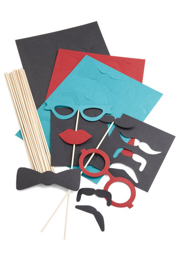 Wise Guise Photo Props Kit - Multi, Quirky, Good, Party, Handmade & DIY, Wedding, Under $20