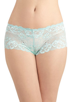 Styled in Seafoam Undies