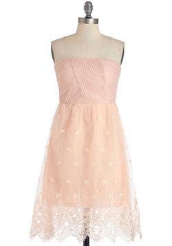 Petal-Perfect Promenade Dress
