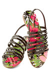 Florida Forever Sandal by Dolce Vita - Flat, Black, Summer, Better, Strappy, Faux Leather, Beach/Resort