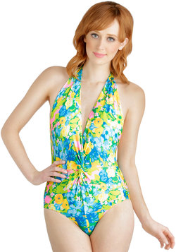 Bold at the Beach One Piece