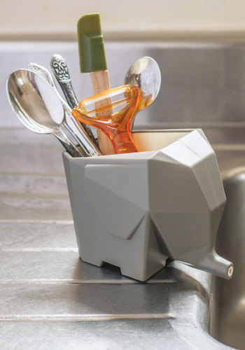 It's a Wild World Caddy - Grey, Quirky, Good, Solid, Minimal, Critters, Top Rated, Wedding