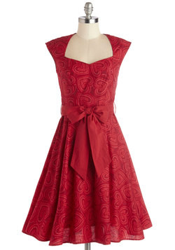 High Noon Harvest Dress in Hearts