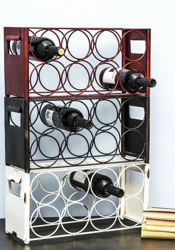 Wine, Two, Three Wine Rack - Multi, Urban, Rustic, Best, Red, Black, White, Graduation, Hostess