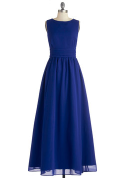Dream Evening Dress in Sapphire