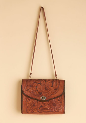 Vintage Misty Mountain Top Bag