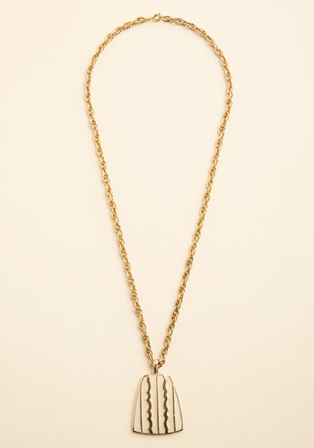Vintage Simple Kind of Glam Necklace